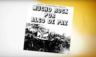 El 16 de mayo de 1982 se realiza elFestival de la Solidaridad Latinoamericana (mira el recital de colección)