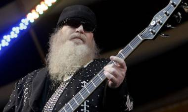 "El 19 de mayo de 1949 nace Dusty Hill, bajista y vocalista de ""ZZ Top"""