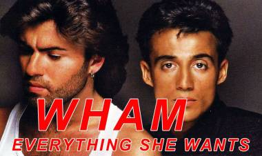 "El 22 de mayo de1985 alcanza el puestoNº 1 Billboard Pop Hit: ""Everything She Wants"", Wham!."