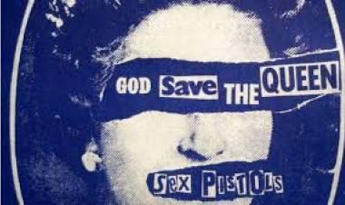 El 27 de mayo de1977 se edita el single 'God save the Queen' deSex Pistols