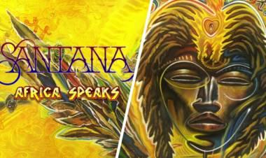 """Africa Speaks"" nuevo álbum de Santana"