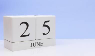 Efemérides de música de este 25 de junio