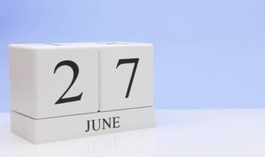 Efemérides de música de este 27 de junio