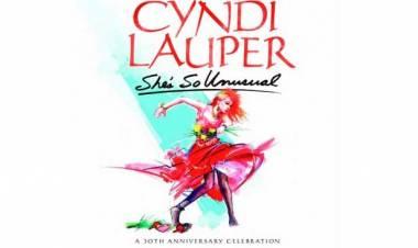 El 14 de junio de 2014Cyndi Lauper celebró 30 años de álbum debut She's So Unusual