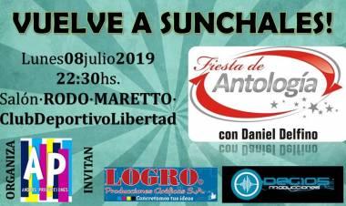 Fiesta de Antología en Sunchales, lunes 8 de julio