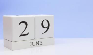 Efemérides de música de este 29 de junio