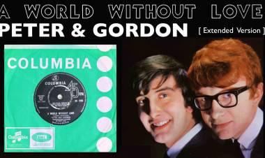 """El 27 de junio de 1964  """"A World Without Love"""", Peter and Gordon es #1 en  Billboard Pop Hit"""