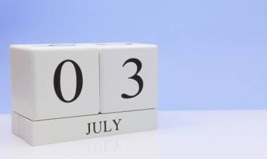 Efemérides de música de este 3 de julio