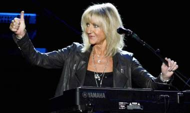 El 12 de julio de 1943 nace Christine McVie integrante de Fleetwood Mac