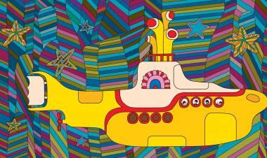 El 17 de julio de 1968 se estrena en Londres  «Yellow submarine»