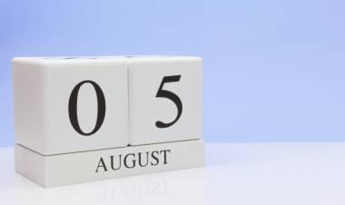 Efemérides de música de este 5 de agosto