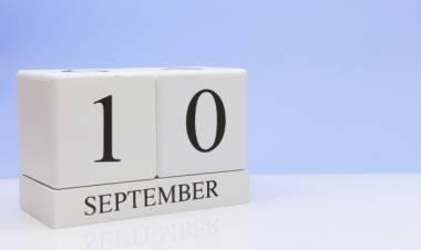 Efemérides de música de este 10 de setiembre