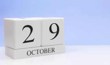 Efemérides de música de este 29 de octubre