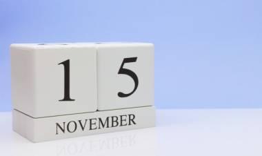 Efemérides de música de este 15 de noviembre