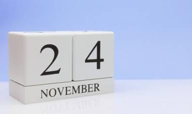 Efemérides de música de este 24 de noviembre