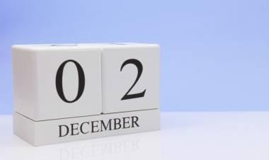 Efemérides de música de este 2 de diciembre