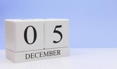 Efemérides de música de este 5 de diciembre