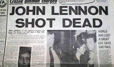 El lunes8 de diciembrede1980,John Lennonfue asesinado