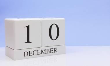 Efemérides de música de este 10 de diciembre