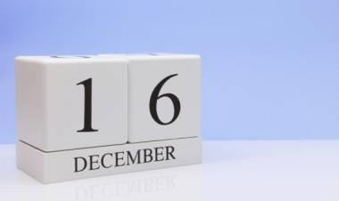 Efemérides de música de este 16 de diciembre