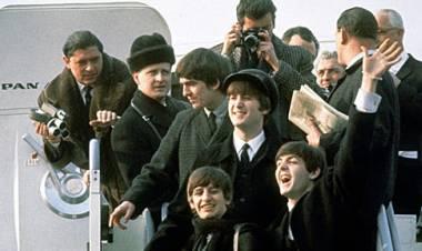 Los Beatles llegan por primera vez a los Estados Unidos