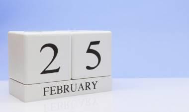 Efemérides de música de este 25 de febrero