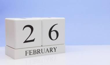 Efemérides de música de este 26 de febrero