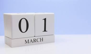 Efemérides de música de este 1 de marzo