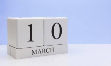 Efemérides de música de este 10 de marzo