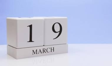 Efemérides de música de este 19 de marzo