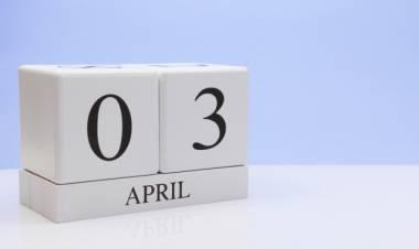 Efemérides de música de este 03 de abril
