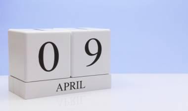 Efemérides de música de este 9 de abril