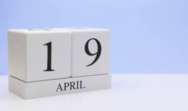 Efemérides de música de este 19 de abril