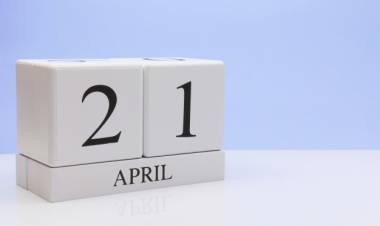 Efemérides de música de este 21 de abril
