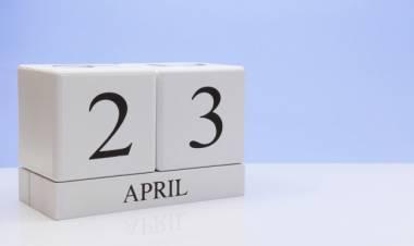 Efemérides de música de este 23 de abril