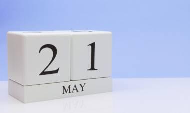 Efemérides de música de este 21 de mayo