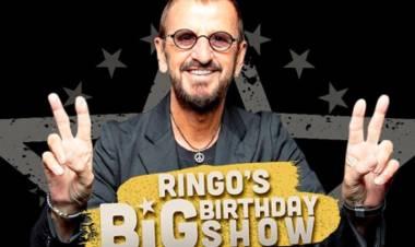 Ringo Starr cumple 80 años y lo celebra cantando con importantes invitados entre ellos una escuela de Chascomús