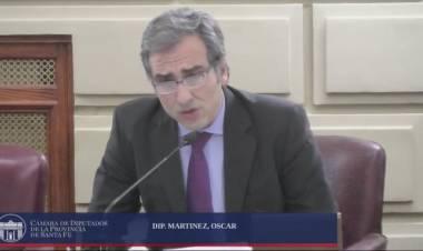 El diputado Oscar Martínez propone trasladar el Congreso Nacional a la ciudad de Rosario