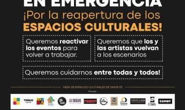 """La Cultura en Emergencia: """"Es urgente la reapertura de los espacios culturales"""""""