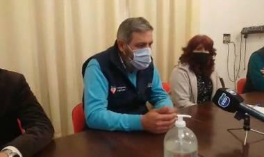 El intendente Ricardo Ramírez y la presencia del Covid 19 en la ciudad de Coronda