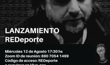 Matías Dalla Fontana y el lanzamiento de ReDeporte en la provincia de Santa Fe