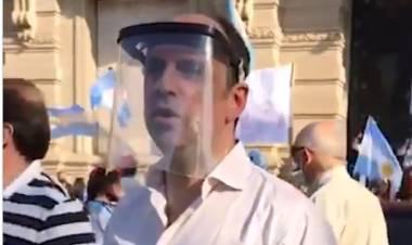 """José Corral: """"Fue una manifestación muy contundente y con un claro mensaje para el presidente"""""""