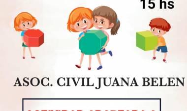 La Asociación Civil Juan Belén prepara la celebración del Día del Niño