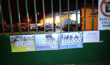 Claudio Leoni y una nueva protesta de Festram por la falta de paritarias en la provincia