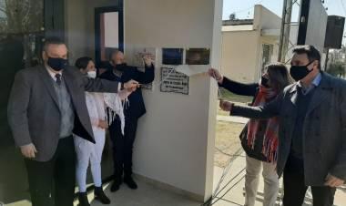 El Senador Michlig y el Pte. Comunal Capella dejaron inaugurada la primera calle de pavimento de Colonia Bossi