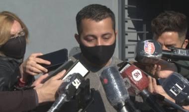 """Franco Rolón: """"Soy policía, pero trabajaba en el remis con mi papá, para poder llegar a fin de mes"""""""