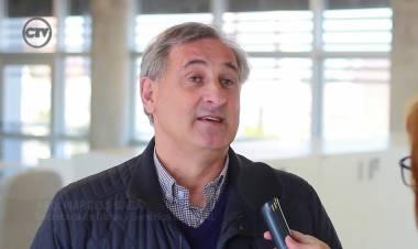 Arq. Marcelo Saba y obras que realizará la UNL en el marco del programa nacional de infraestructura