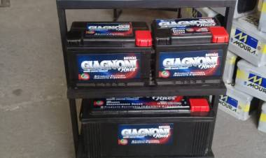 Dario Giagnoni Distribuciones y su nuevalínea de baterías