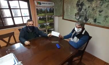 """El Senador Michlig visitó Curupaity y destacó la """"continuidad de políticas públicas para la transformación comunal"""""""