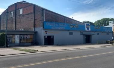 Bruno Securo y obras para el crecimiento del club Alianza de Santo Tomé